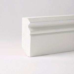 Weiße Sockelleisten günstig bestellen - Leiste24.de