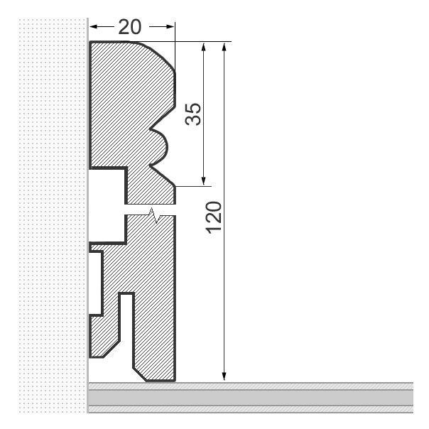 Eine weitere Ausführung ist das Altreno Profil