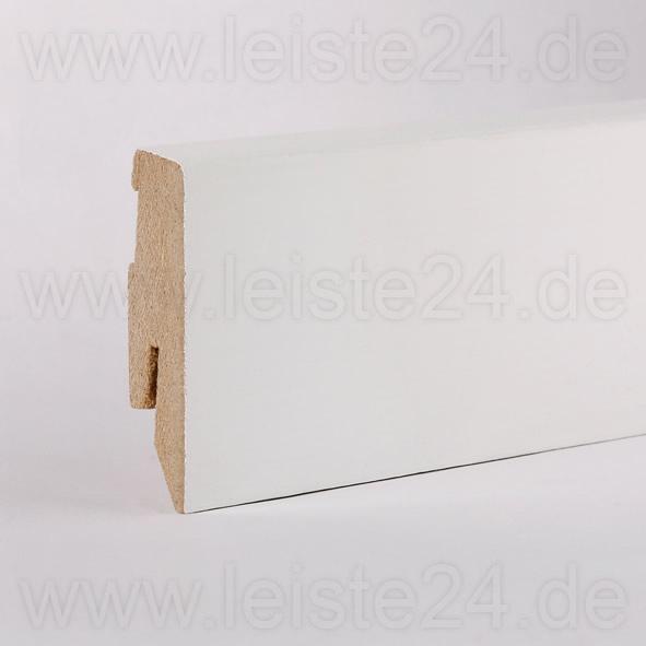 furnier sockelleiste 60 mm deckend wei lackiert furnierleisten 60 mm mdf sockelleisten. Black Bedroom Furniture Sets. Home Design Ideas