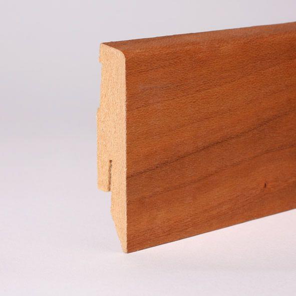 Furnier-Sockelleiste 60 mm Kirschbaum geölt