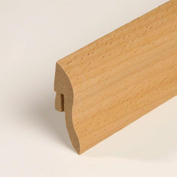 Furnier-Sockelleiste 40mm Buche geölt