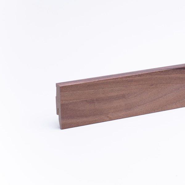 Sockelleiste mit Holzoptik 60mm Zebrano