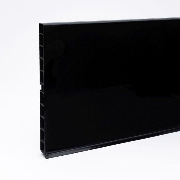 Sockelblende KS150 - Schwarz hochglanz