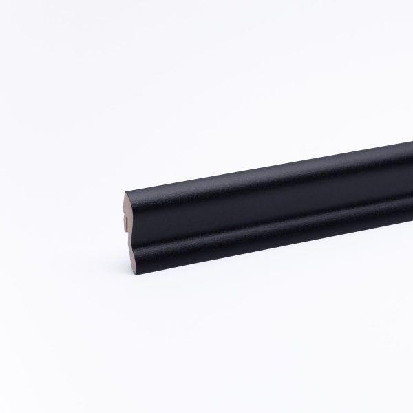 Dekor-Sockelleiste 40mm Schwarz