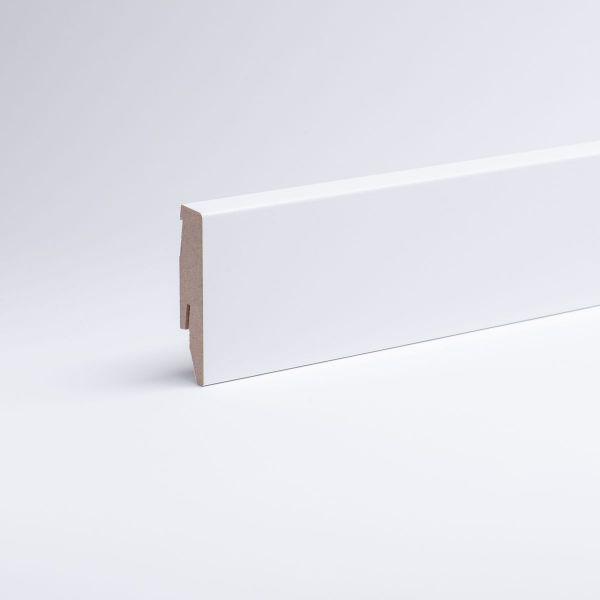 Dekor-Sockelleiste 60mm weiß ähnlich RAL 9010